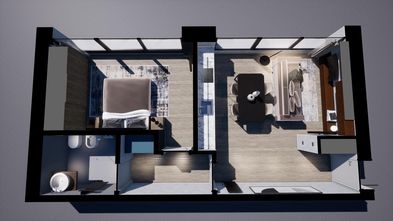 Appartamento indipendente situato al piano terra in  piccola palazzina moderna